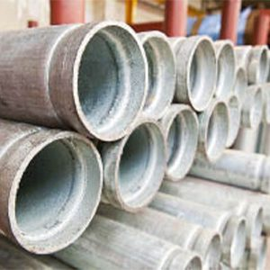 Galvanised Heavy Steel Tube - Roll Grooved Ends