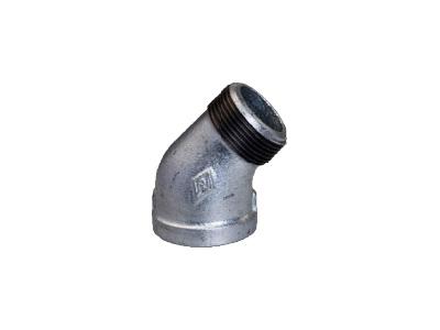 Malleable Iron 121 M/F Street Elbows, 45 Degree – Galvanised