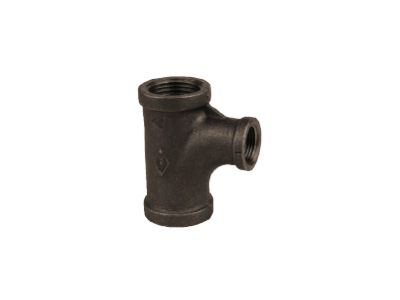Malleable Iron 131R Reducing Pitcher Tees – Black