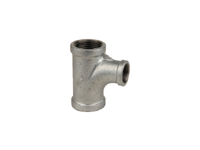 Malleable Iron 131R Reducing Pitcher Tees – Galvanised
