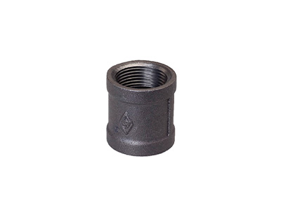 Malleable Iron 220 Couplings BSPT – Black