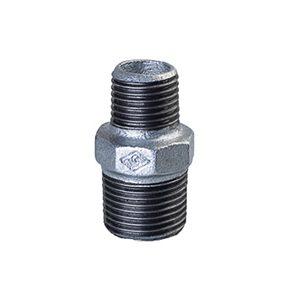 245 Reducing Hexagon Nipples - Galvanised