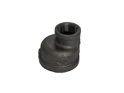 Malleable Iron 260 Eccentric Reducing Sockets – Black