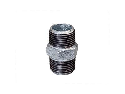 280 Hexagon Nipples - Galvanised