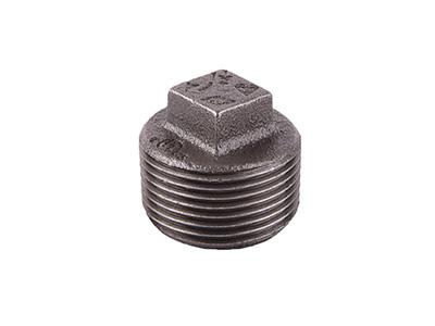 Malleable Iron 291 Hollow Plugs – Black