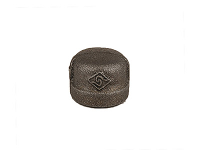 Malleable Iron 300 Caps – Black