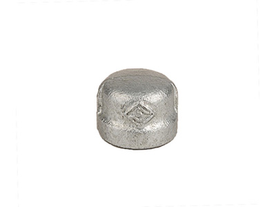 Malleable Iron 300 Caps – Galvanised
