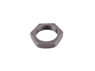 Malleable Iron 312 Recessed Backnuts – Black