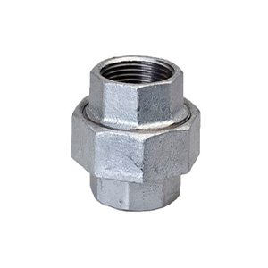 342 Bronze to Iron Unions - Galvanised