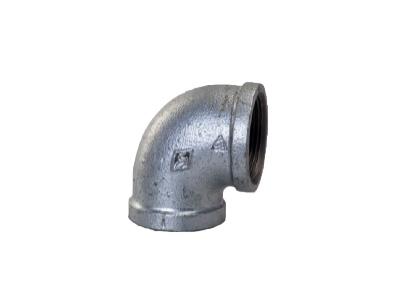 Malleable Iron 90 Elbows, 90 Degree – Galvanised