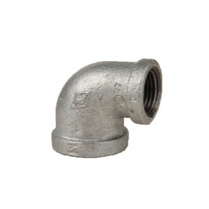 90R Reducing Elbows, 90 Degree - Galvanised