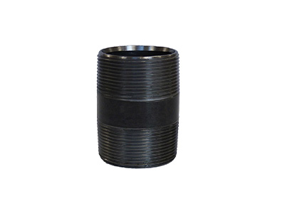 Mild Steel Black Barrel Nipples Heavy