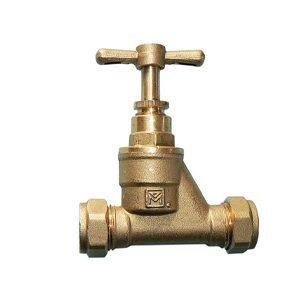 Brass Compression Stopcocks
