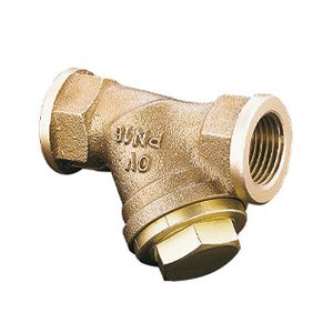Bronze Y Type Strainers, 100 Mesh ST ST Basket, BSP Ends, PN25