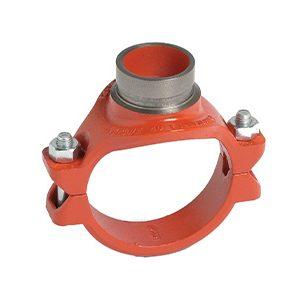 Mechanical Tees Grvd, Style 920 920N - Red Orange