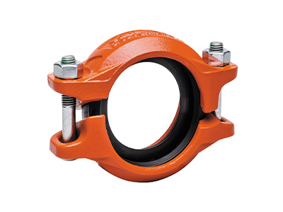 Victaulic QuickVic Rigid Couplings – Style 107N, Orange