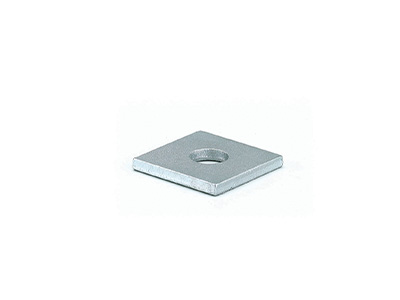 Square Washer 6mm Thick