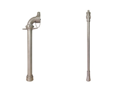"2.5"" Single Head Fire Hydrant Standpipe & Hydrant Key & Bar"