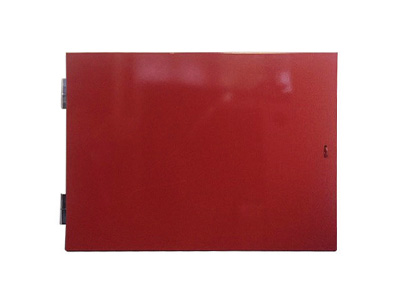 Red Dry Riser Horizontal Vandal Proof Door Frame