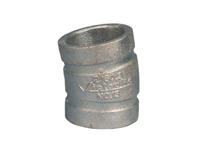 100mm Victaulic Grooved 11.25° Elbow – Galvanised