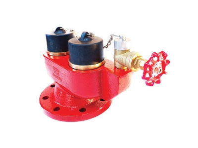 PN16 Two Way Inlet Breeching Valve