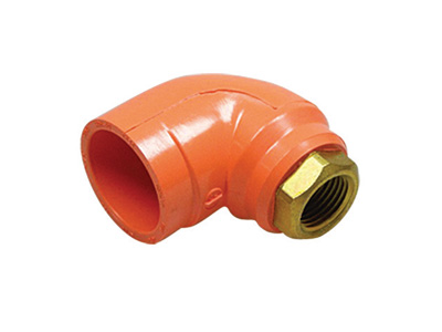 BlazeMaster® CPVC Fittings - Sprinkler Head Adapter Elbow