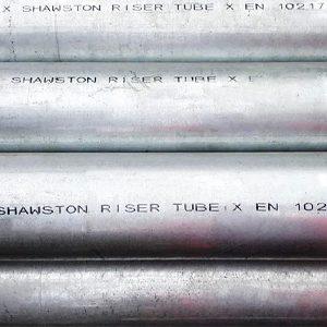 Thin Wall Riser Tube Galvanised