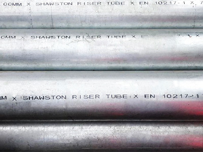 Thin Wall Riser Tube Galvanised