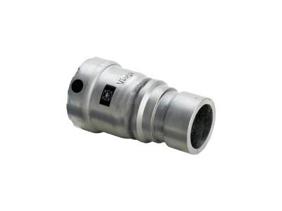 Viega Megapress Adapter with SC-Contur potable water installation