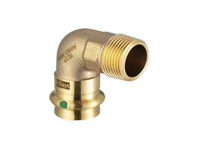 Viega Sanpress Adapter elbow 90° degree with SC-Contur