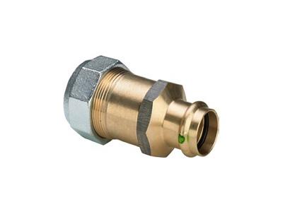 Viega Sanpress Adapter union with SC-Contur