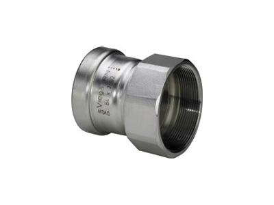Viega Sanpress Inox XL Adapter with SC-Contur
