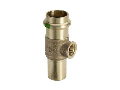 Viega Sanpress T-piece G¼, with plug-in end with SC-Contur