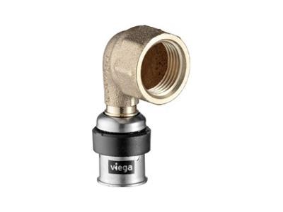 Viega Smartpress Adapter elbow 90° with SC-Contur