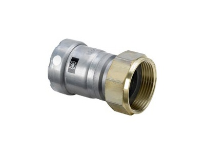 Viega Megapress S Connection screw fitting with SC-Contur
