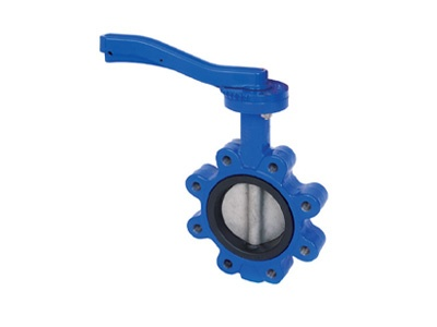 Albion Valves Art 135, PN25, Ductile Iron Butterfly Valve Lugged & Tapped Type, Vulcanised Liner