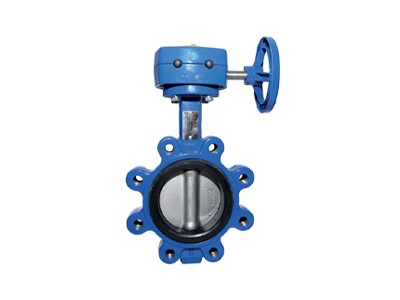Albion Valves Art 135GB, PN16, Ductile Iron Butterfly Valve Lugged & Tapped Type with Gearbox, EPDM Liner