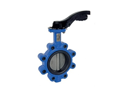 Albion Valves Art 140, Ductile Iron Butterfly Valve, Lugged & Tapped Type, EPDM Liner