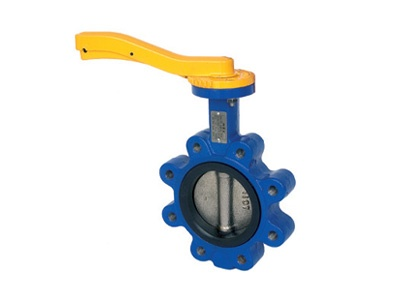Albion Valves Art 145, Ductile Iron Butterfly Valve Lugged & Tapped Type, NBR Liner